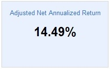 Lending Club Roth IRA - Adjust NAR - November 2013
