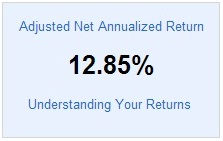 Lending Club Roth IRA - Adjusted NAR - 2014 First Quarter Update