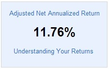 Lending Club Taxable - Adjusted NAR - 2014 First Quarter Update