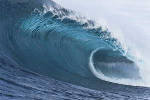 Passive Income and Pageviews - August 2014 - Ocean Waves